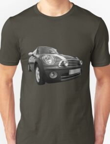mini black and white T-Shirt