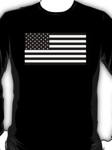 Black and White AMERICA T-Shirt