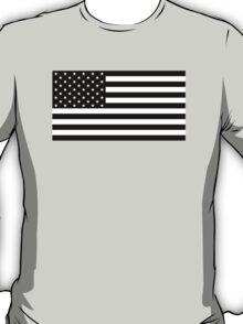 Black and White AMERICA T-Shirt