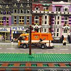 Lego Village, Greenberg's Train and Toy Show, Edison, New Jersey  by lenspiro