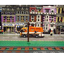 Lego Village, Greenberg's Train and Toy Show, Edison, New Jersey  Photographic Print