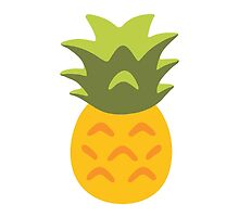 Pineapple Google Hangouts / Android Emoji by emoji