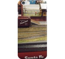 Scale Model Trains, Scale Model Buildings, Greenberg's Train and Toy Show, Edison, New Jersey  iPhone Case/Skin