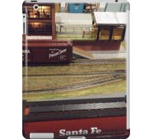 Scale Model Trains, Scale Model Buildings, Greenberg's Train and Toy Show, Edison, New Jersey  iPad Case/Skin