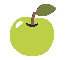 Green Apple Google Hangouts / Android Emoji by emoji