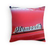 """Plymouth"" Throw Pillow"