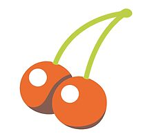 Cherries Google Hangouts / Android Emoji by emoji