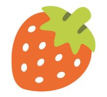 Strawberry Google Hangouts / Android Emoji by emoji