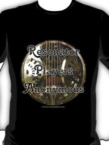 Resonator Guitar Players Anonymous T-Shirt
