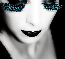 feather lashes by VVVenus
