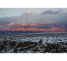 Taos Mountains Photographic Print