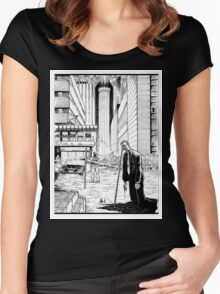 Vigil Pinup #2 Women's Fitted Scoop T-Shirt