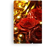 Tinsel and Glitter Canvas Print