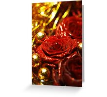 Tinsel and Glitter Greeting Card