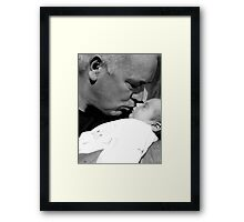 My daddy and me Framed Print