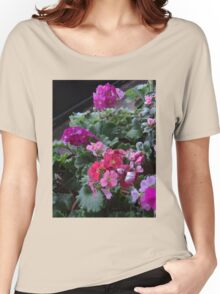 Pink Primrose Women's Relaxed Fit T-Shirt