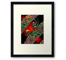 Digital Art Abstract #64 Framed Print