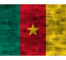 Distressed Cameroon Flag by kwg2200