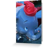 Flying Elephants Greeting Card