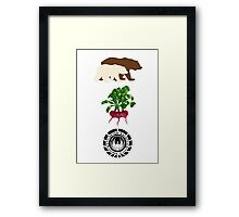 Bears Beets..... Framed Print