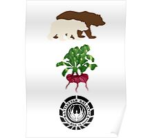 Bears Beets..... Poster