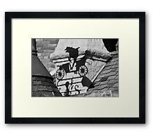 Mr. Toad's Shadow Framed Print