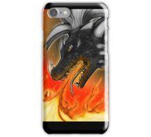 Dragon in fire iPhone Case/Skin