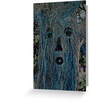 Ponderosa Pine Tree Greeting Card