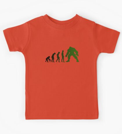 Green Evo Kids Tee