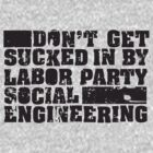 Social Engineering (For Light Shirts) by KevinBS