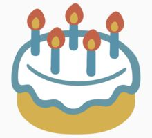 Birthday Cake Google Hangouts / Android Emoji Kids Clothes