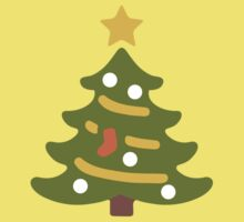 Christmas Tree Google Hangouts / Android Emoji Kids Clothes
