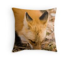 Following a Scent Throw Pillow
