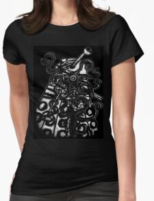 Dalek- Infected Womens Fitted T-Shirt