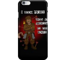 More than an arrow to the knee iPhone Case/Skin