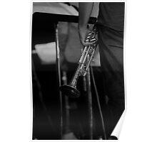 Trumpet Rest Poster