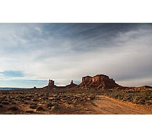 Stagecoach – Monument Valley, Utah Photographic Print