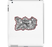 Design 023s1 - by Kit Clock iPad Case/Skin