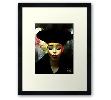 The Pout  Framed Print