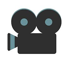 Movie Camera Google Hangouts / Android Emoji by emoji