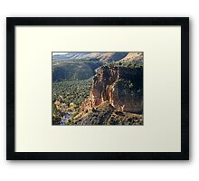 Gerinimo Was Here Framed Print