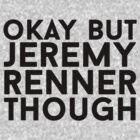Jeremy Renner by eheu
