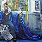 Napoleon on the Metro by Wesly Alvarez