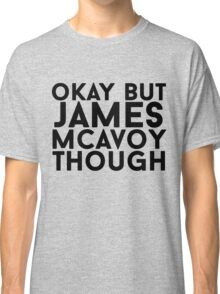 James McAvoy Classic T-Shirt