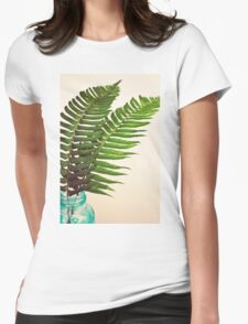 Ferns II Womens Fitted T-Shirt
