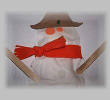 My Son Michaels Snowman Art by Jonice