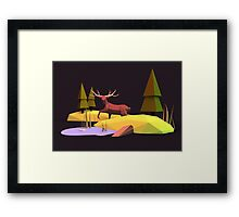 Into the Wild II Framed Print