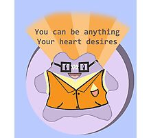 A positive ditto to brighten your day! Photographic Print