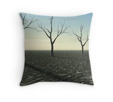 Environmental Disaster Throw Pillow