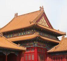 Winter Palace, Forbidden City, Beijing by John  Lambert
